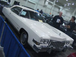 All You Need to Know about Car Auctions: 1973 Cadillac Eldorado photographed in Mississauga, Ontario, Canada at the Toronto Classic Car Auction of spring 2012.