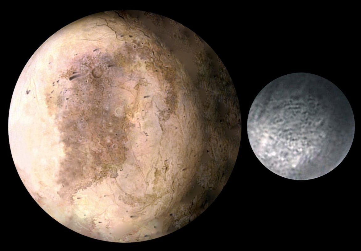 NASA Released Stunning Photos of Pluto's Moon, Charon ...