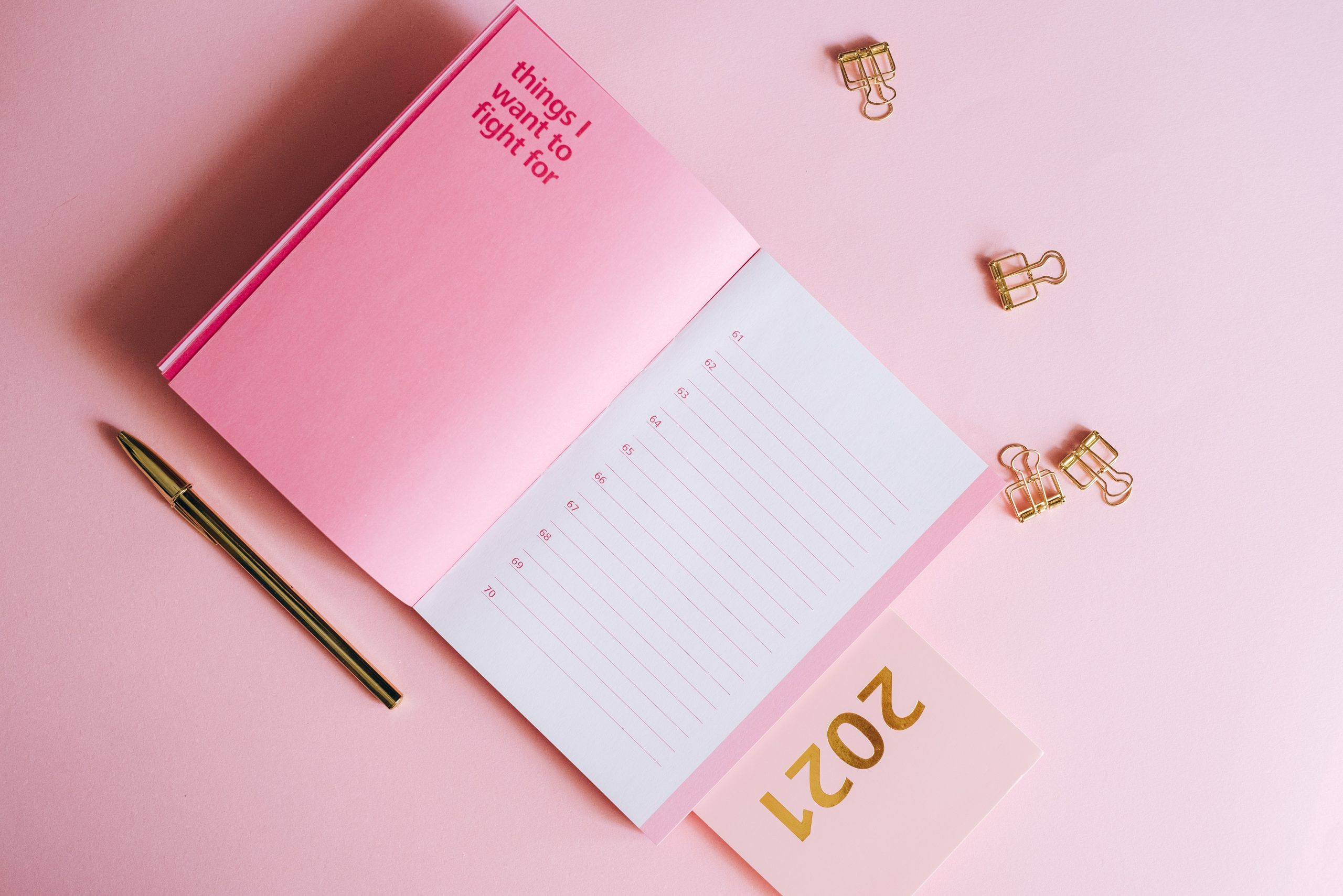 Ideas for Creative Resolutions This Year for Self-improvement - Gildshire