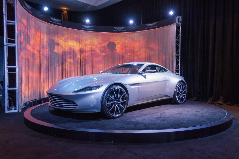 James Bond Aston Martin Db10 Spectre Vehicle Up For Auction