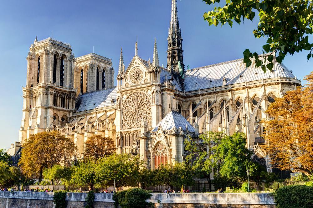 Notre Dame De Paris The Most Famous Of Gothic Cathedrals Middle Ages