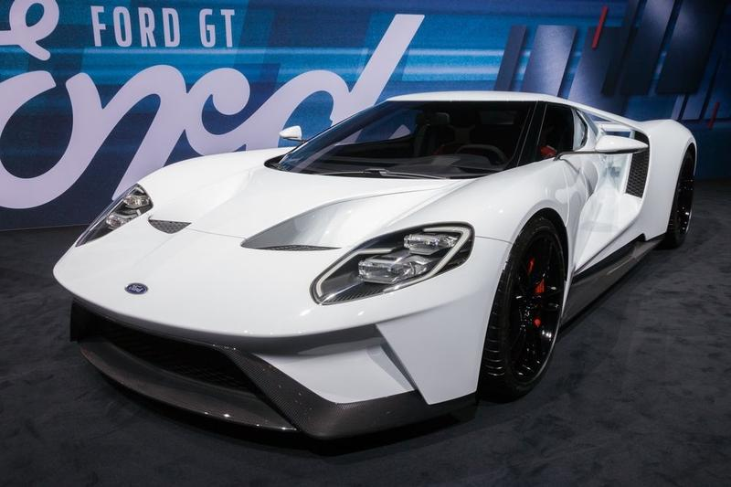 Ford Gt Comes With  Hp And  Mph Top End