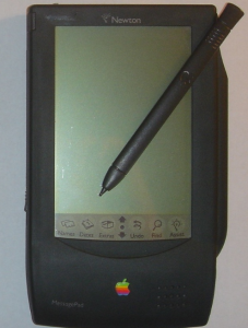 Apple had a big bust with the Newton MessagePad