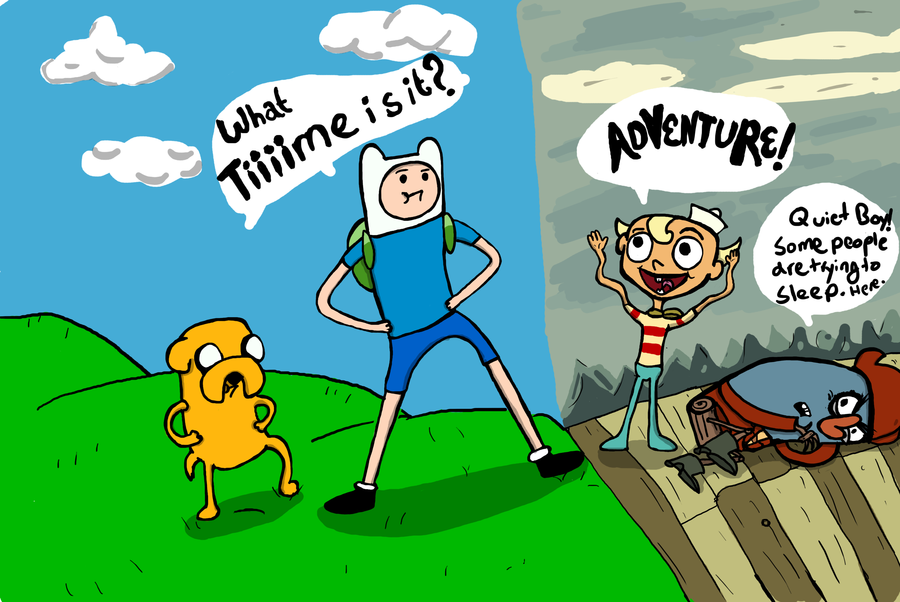 Modern Cartoons: Adventure Time