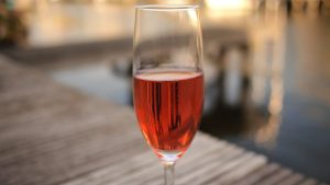 "There are three ways rosé wine is made: through ""skin contact,"" the ""saignee"" method, and blending."