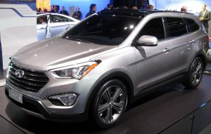 The 2013 Hyundai Santa Fe is one vehicle under recall.