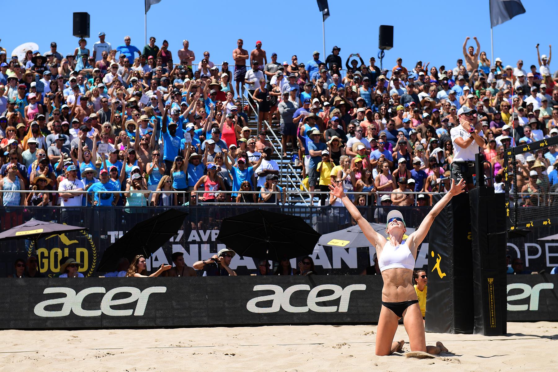 2017 Avp Gold Series Manhattan Beach Open Presented By Acer 8 20 17