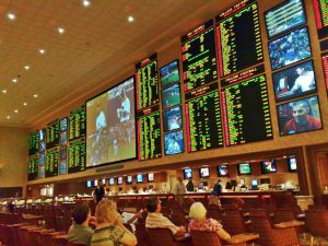 For now, U.S. based sports betting means a trip to the casino, but those days are coming to an end.