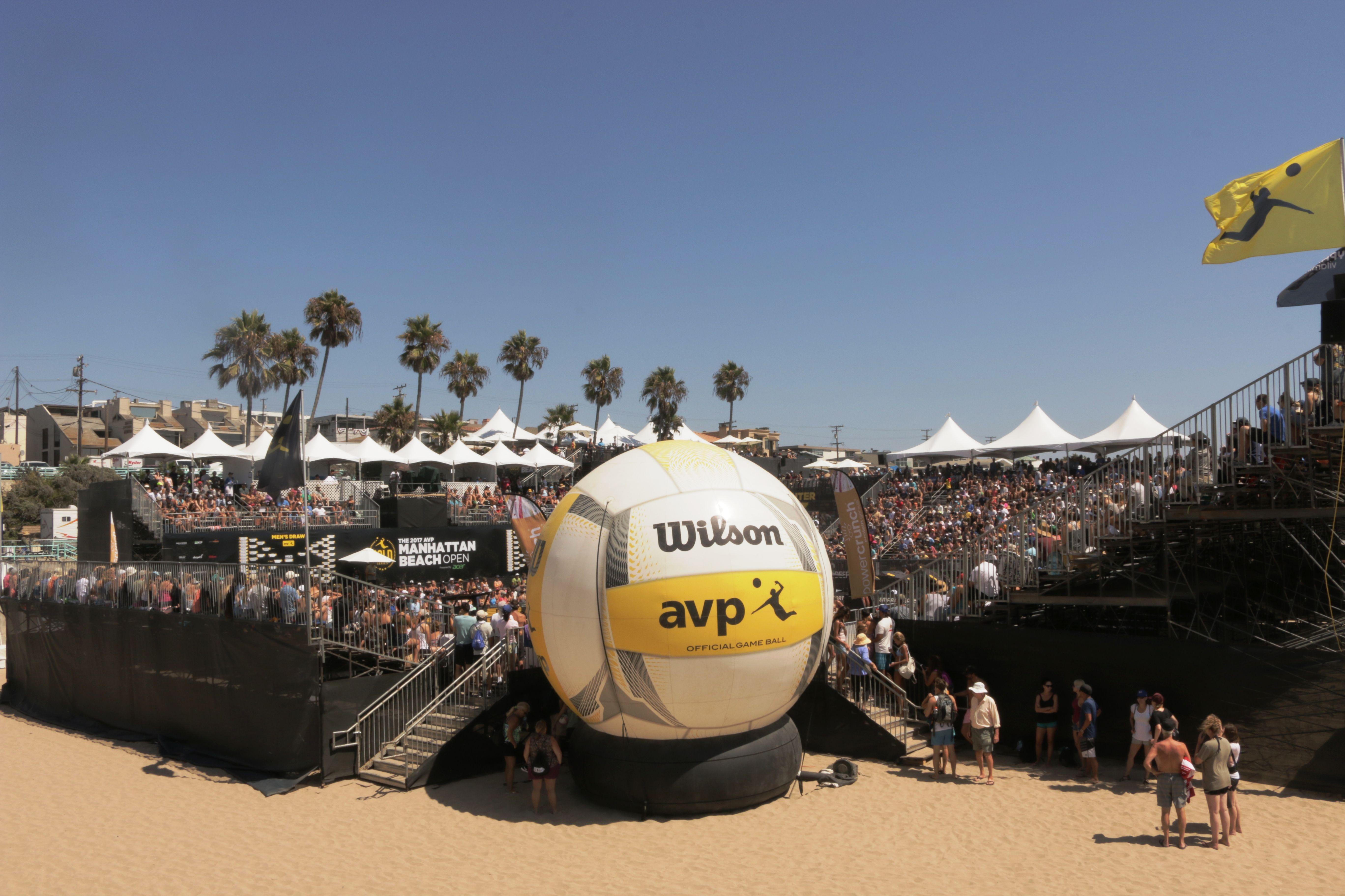 A very well organized event - 58th Annual AVP Gold Series Manhattan Beach Open