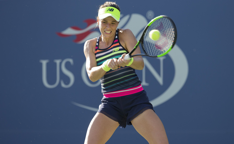 Nicole Gibbs (US) impresses at the US Open