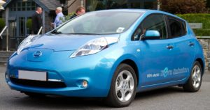 The Nissan Leaf is among the top of the tech electric vehicles, but with low resale value numbers.