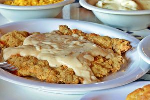 Southwest Chicken Fried Steak at Babe's