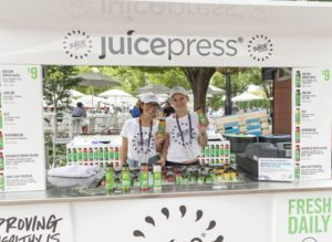 Healthy options at the US Open Food Village (Photo: Lev Radin)