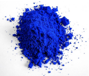 The vibrant YInMn blue color