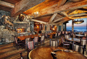 Big Cedar Lodge's view from its magnificent dining room.
