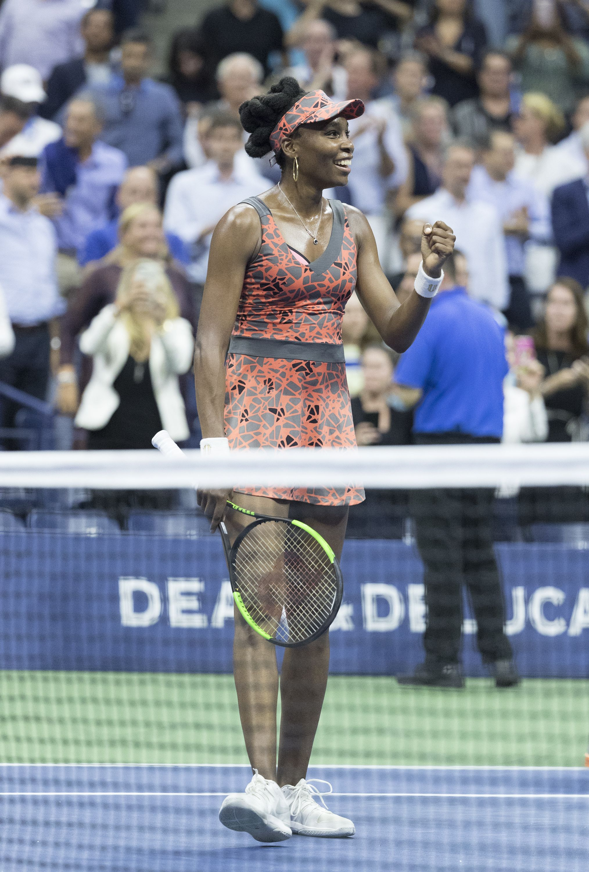 Venus Williams makes it to the Semi-finals at the US Open. (Photo: Lev Radin)