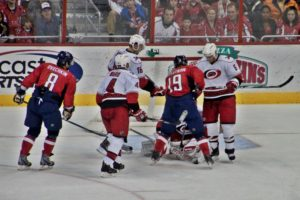 You're close, but will a hockey fight break out if you're too close?
