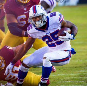 Bills' running back LeSean McCoy