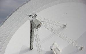 A radio telescope, like the one used to detect neutron stars