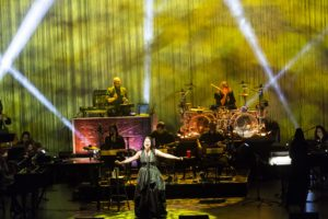 Amy Lee and her band Evanescence rocked the Kings Theatre in Brooklyn (Photo: Lev Radin)