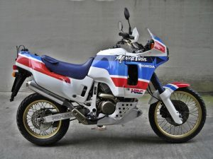 The Africa Twin painted in U.S.A. finery.