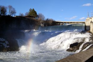 Spokane Falls is a 10-minute walk from The Davenport