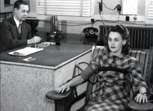 1945 lie detector test for lying