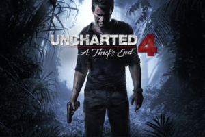"Cover art for the last entry in the ""Uncharted"" series Naughty Dog"