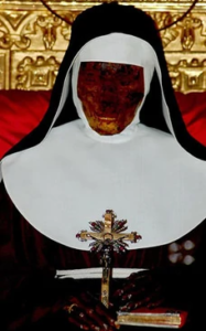 Source: http://mummipedia.wikia.com/wiki/Saint_Catherine_of_Bologna incorrupt