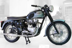 A new Triumph motorcycle was likely under a tree near you.
