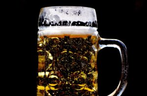 Beer has a lot of carbs, which triggers drowsiness alcohol