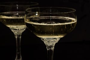 Champagne can get you drink very quickly alcohol