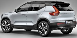 Volvo subscription is available for this XC40