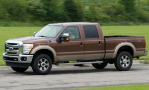 This 2011 Ford F-350 may offend the atmosphere.