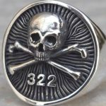 Ring worn by Yale's Skull and Bones Society.