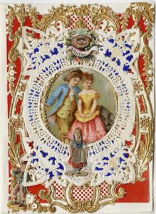 An Esther Howland original Valentine