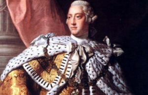 King George III, ruler during the Revolutionary War diseases