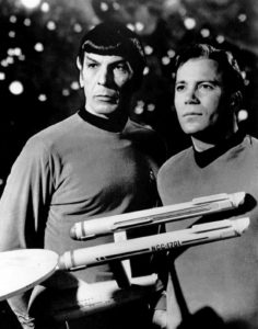 "Spock and Kirk from ""Star Trek"" are a favorite couple for smut fan fiction writers"