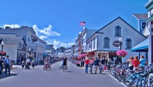 Mackinac Island is one of this country's unique vacation places.