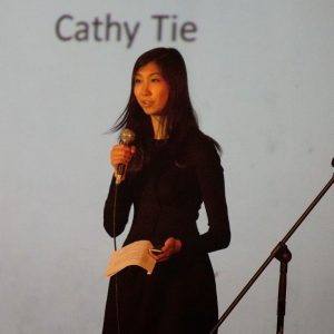 Cathy Tie is all of 21, but a star nonetheless.
