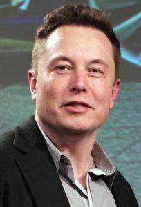 Tesla founder, Elon Musk.