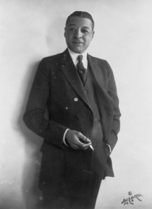 Bert Williams around 1920-21