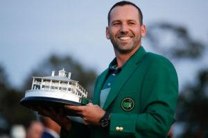 Spain's Sergio Garcia is The Masters' defending champion.