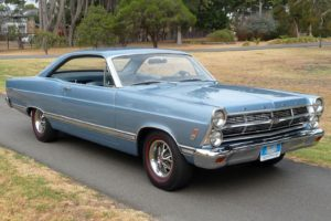 Ford's car lineup once included the 1967 Fairlane 500.