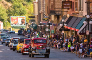 Small mountain towns are big on car rallies. Just one reason we love them!