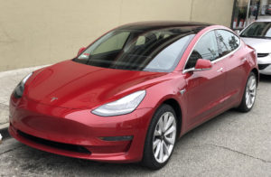 Production issues with the Tesla 3 (pictured) have Tesla hurt already.