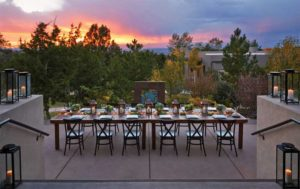 Dining with a view, Southwestern style.
