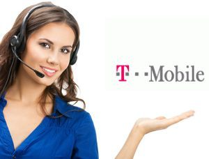 This T-Mobile customer service agent may be about to make new friends.