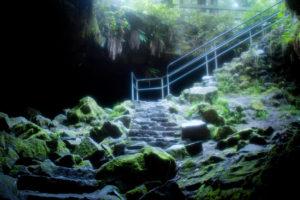 Ape Cave Lava tube, Skamania, Washington