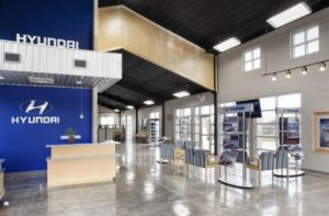 This Texas Hyundai shop is one with with Genesis dealerships embedded.